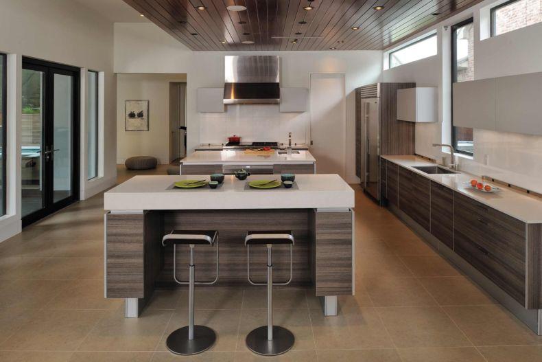 Дизайн кухни 2018 года (72)