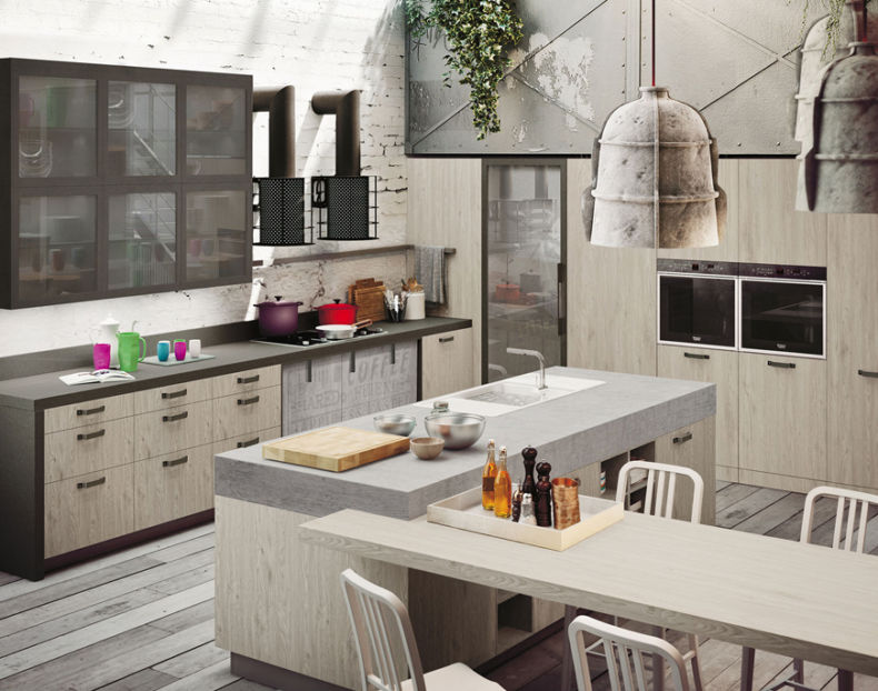 Дизайн кухни 2018 года (9)