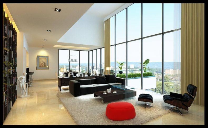 Дизайн квартир 2018 года (16)
