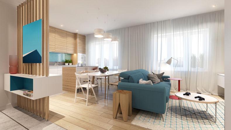 Дизайн квартир 2018 года (21)