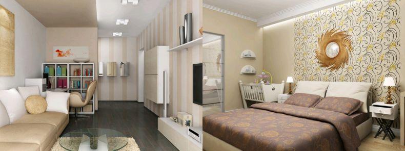 Дизайн квартир 2018 года (34)