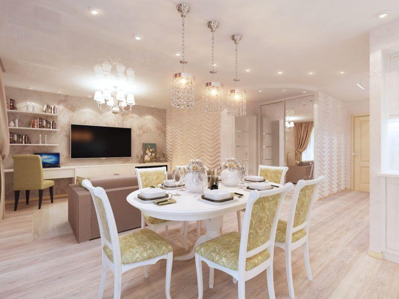 Дизайн квартир 2018 года (43)