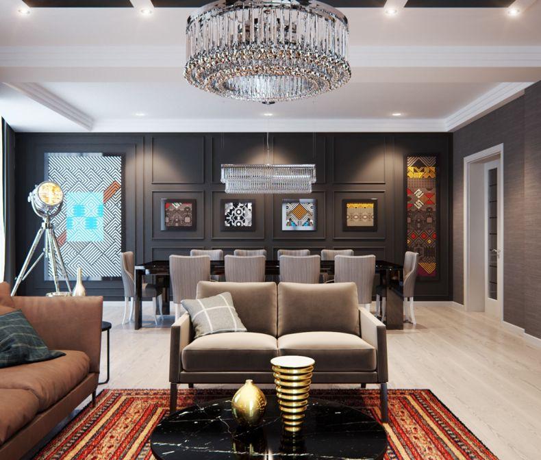 Дизайн квартир 2018 года (58)