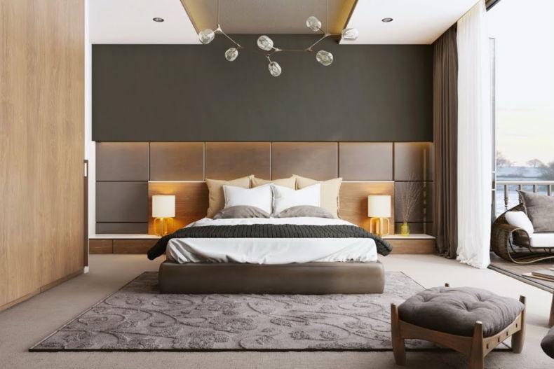Дизайн спальни 2018 года (22)