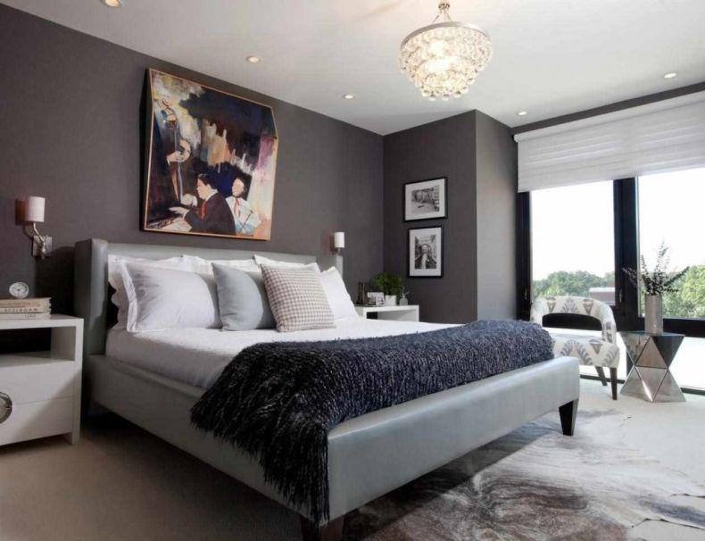 Дизайн спальни 2018 года (27)
