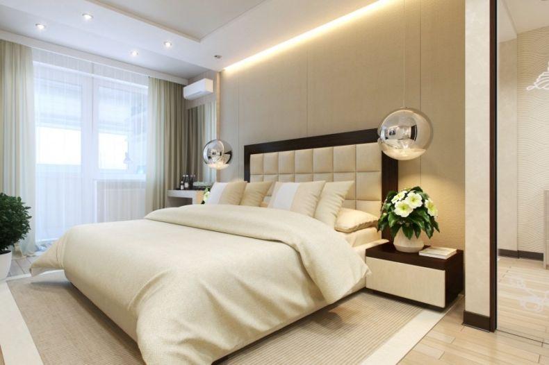 Дизайн спальни 2018 года (39)