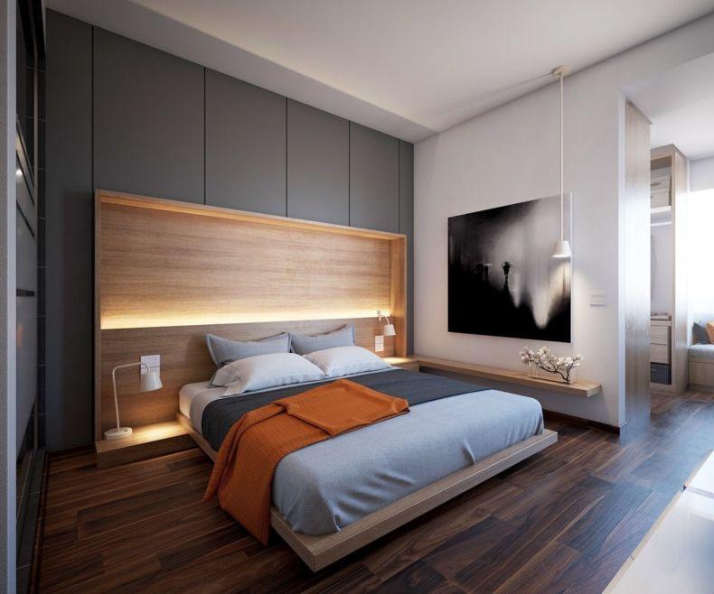 Дизайн спальни 2018 года (40)