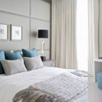 Gray Blue And White Bedroom Ideas • White Bedroom Design within 28 Inspirational Gallery Of Blue And White Bedroom