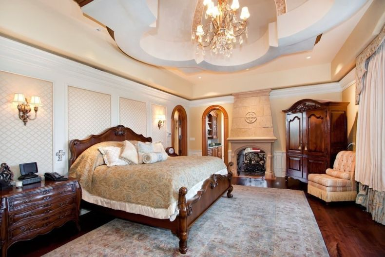 Дизайн спальни 2018 года (62)