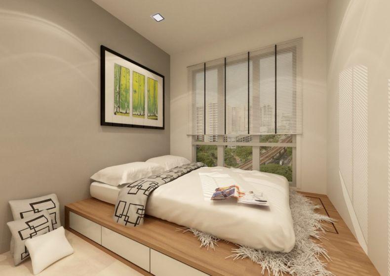 Дизайн спальни 2018 года (68)