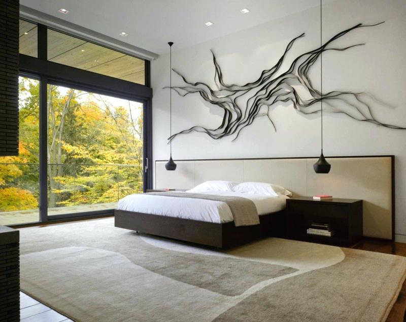 Дизайн спальни 2018 года (69)