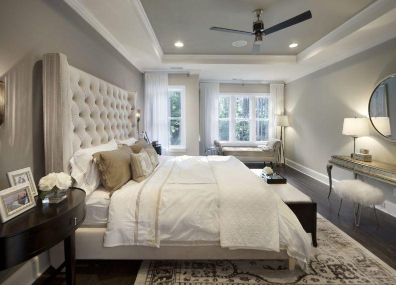 Дизайн спальни 2018 года (70)