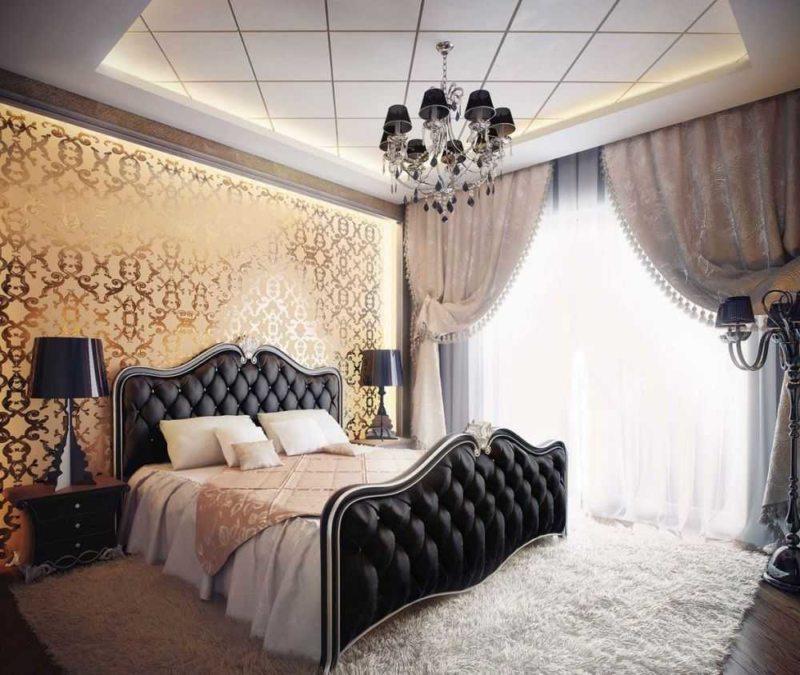 Дизайн спальни 2018 года (78)