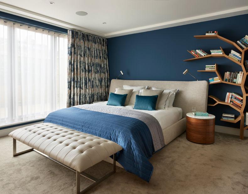 Дизайн спальни 2018 года (85)