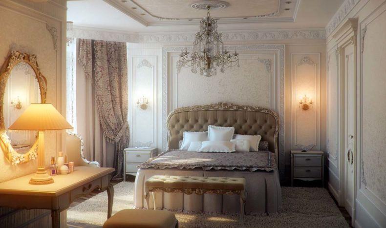Дизайн спальни 2018 года (86)