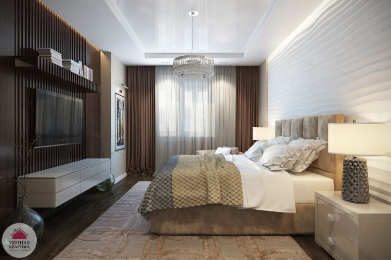 Идеи дизайна спальни - 82