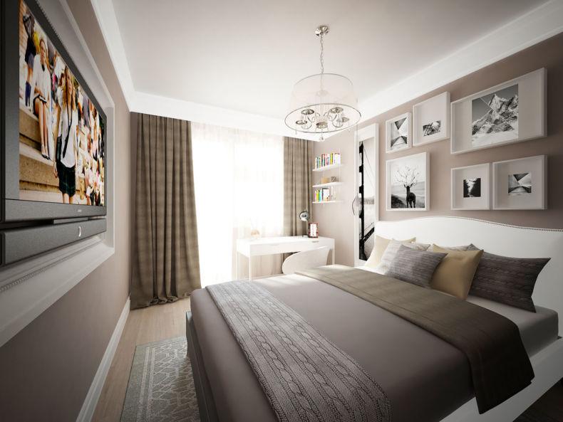 Идеи дизайна спальни - 84