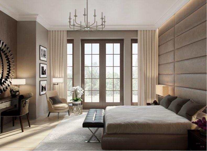 Идеи дизайна спальни - 85