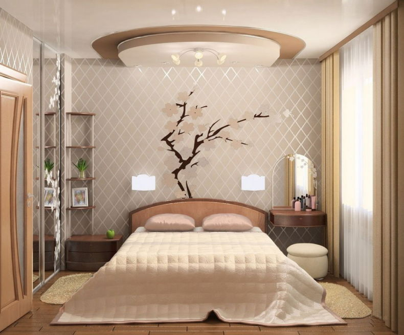 Идеи дизайна спальни - 86