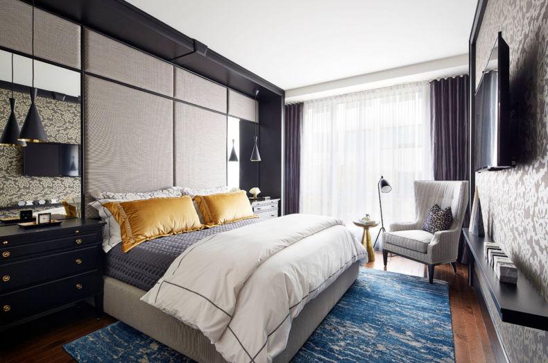 Идеи дизайна спальни - 75