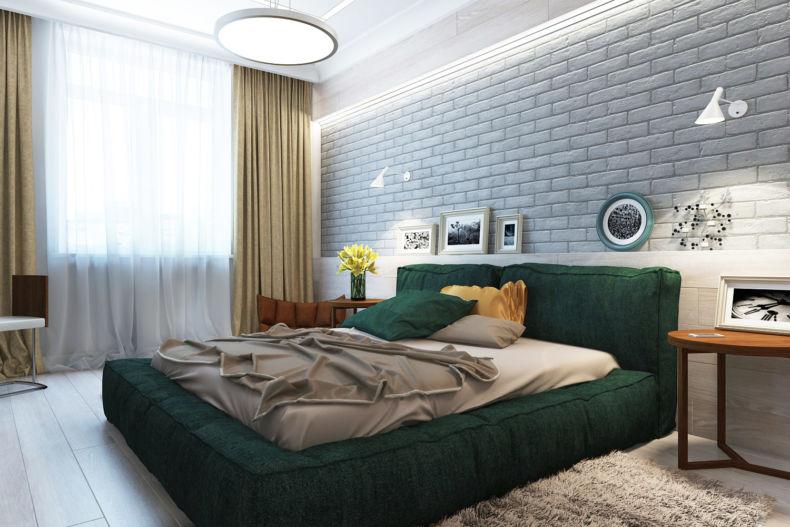 Идеи дизайна спальни - 70