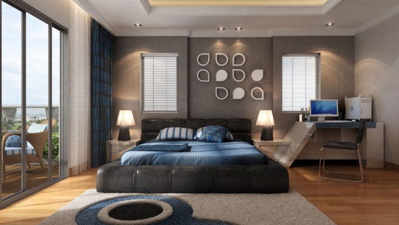 Идеи дизайна спальни - 66