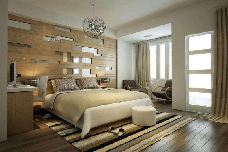 Идеи дизайна спальни - 65