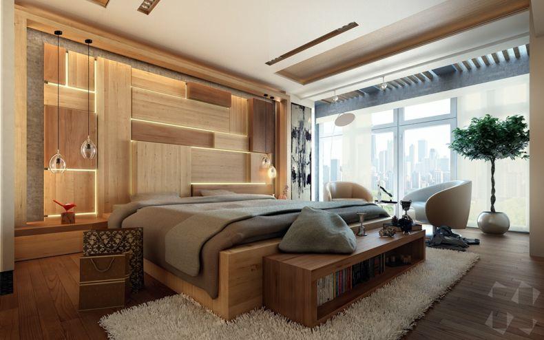 Идеи дизайна спальни - 62