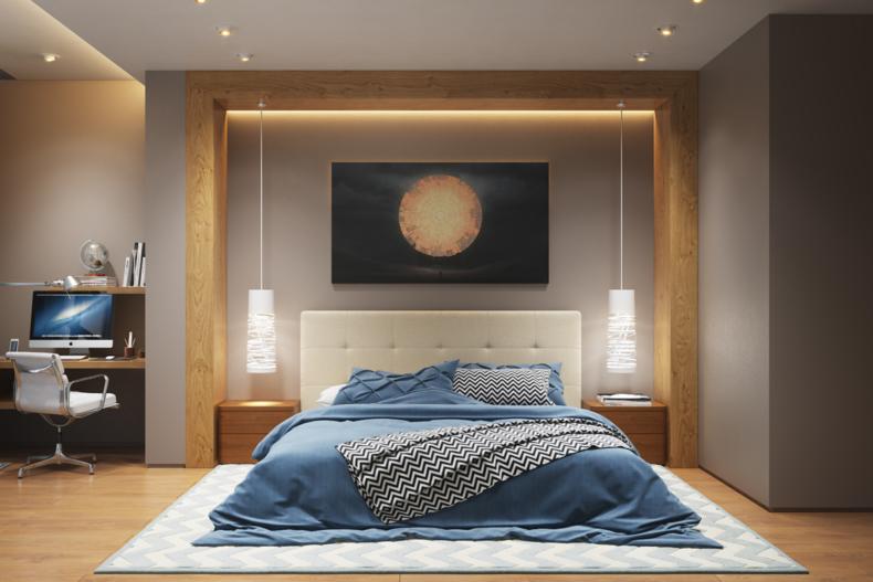 Идеи дизайна спальни - 57