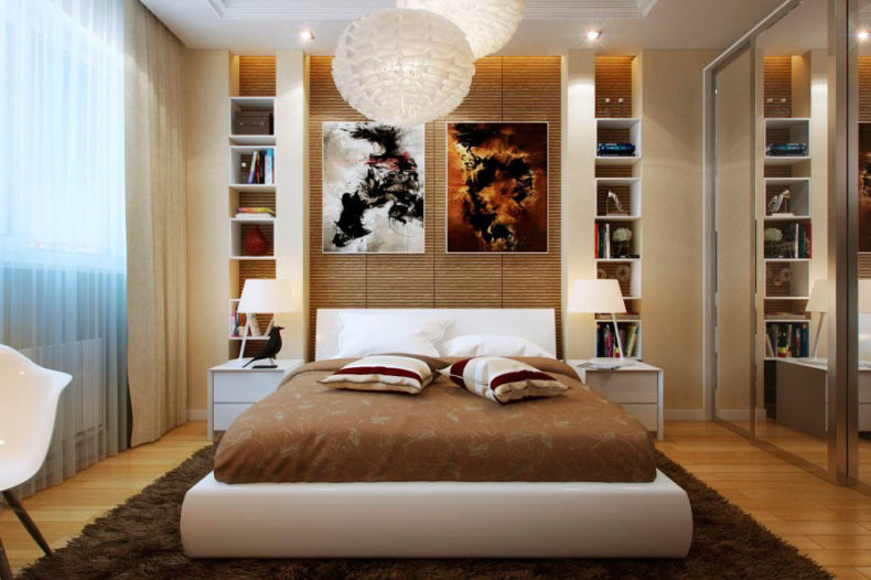 Идеи дизайна спальни - 56