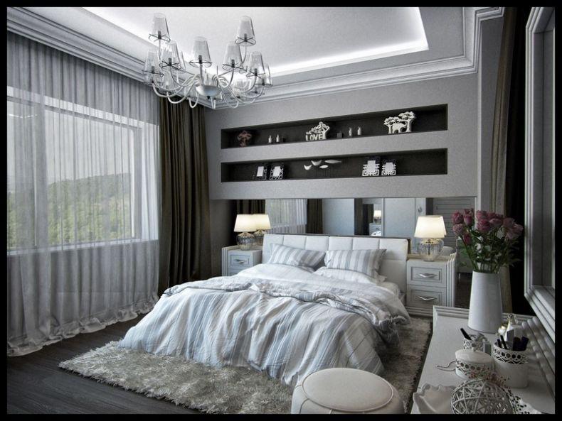 Идеи дизайна спальни - 54