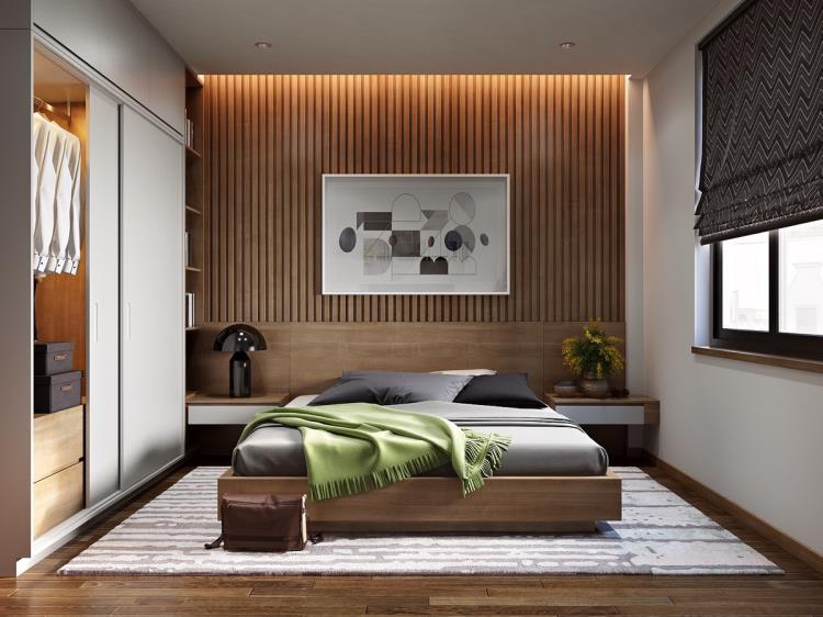 Идеи дизайна спальни - 53