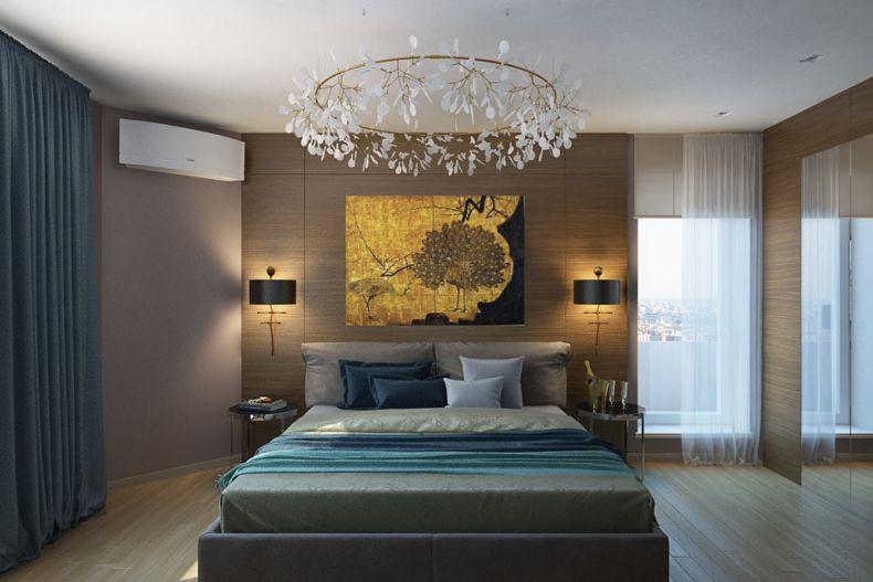 Идеи дизайна спальни - 50
