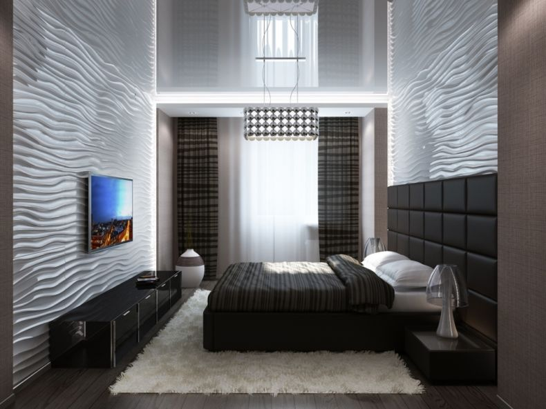 Идеи дизайна спальни - 49