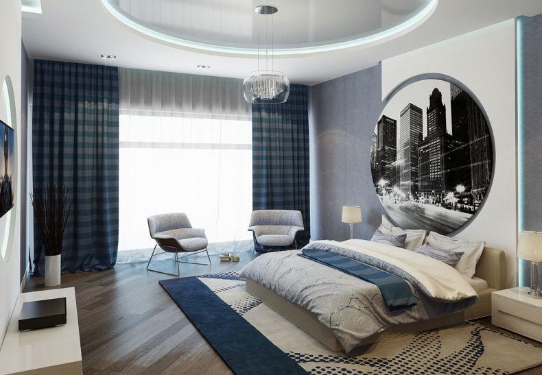 Идеи дизайна спальни - 47