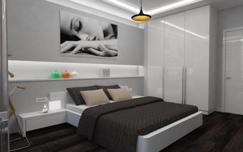 Идеи дизайна спальни - 44