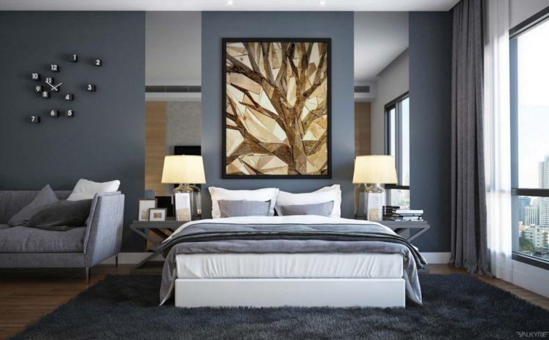 Идеи дизайна спальни - 43