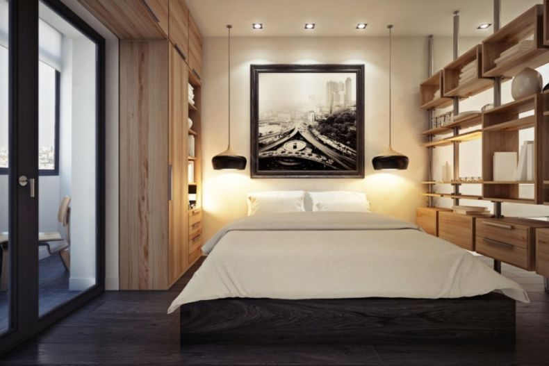 Идеи дизайна спальни - 41