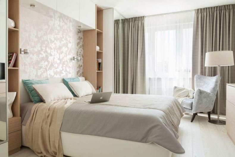 Идеи дизайна спальни - 39