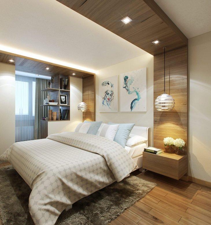 Идеи дизайна спальни - 38