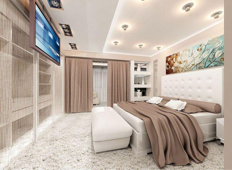 Идеи дизайна спальни - 37