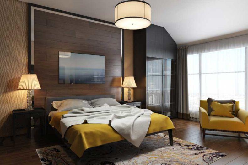 Идеи дизайна спальни - 35