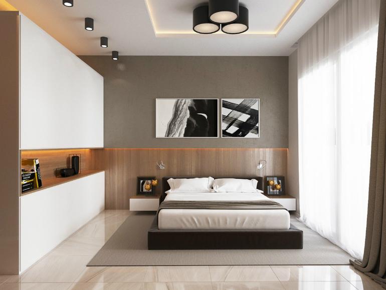 Идеи дизайна спальни - 29