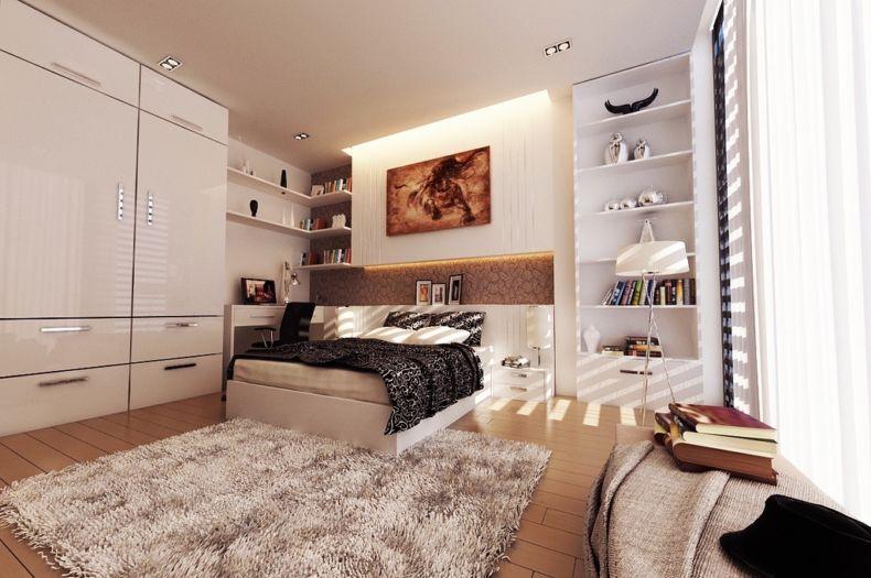 Идеи дизайна спальни - 28