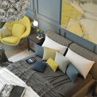 Идеи оформления спальни - дизайн интерьера спальни 2020 года