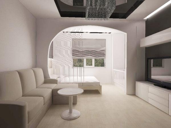арка-в-гостиной-18-кв-метров-600x450
