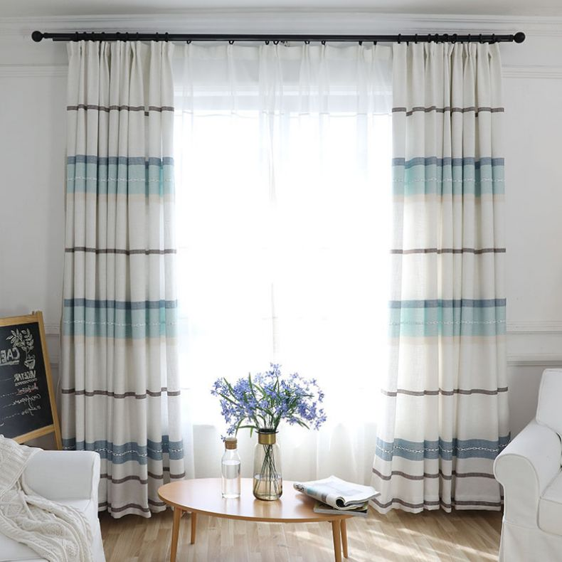 Blue-and-White-Striped-Modern-Tall-Curtains-HDCN1708221040263-1