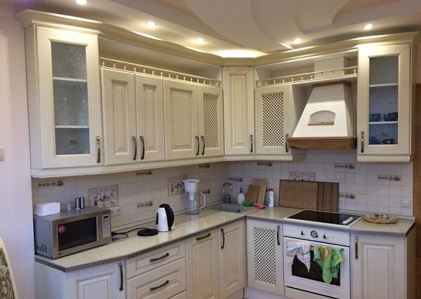 кухня на левую сторону