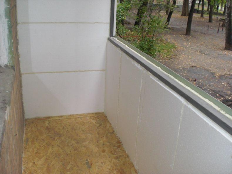 uteplenie-balkona-penopolistirolom
