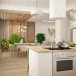 кухня экостиль фото